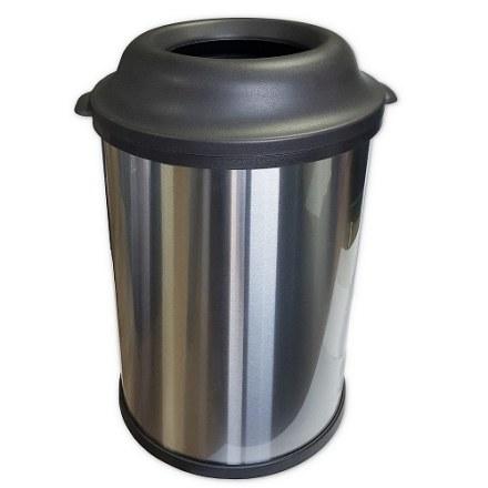 Бак для мусора   из нержавеющей стали  матовый САНАКС код 11220