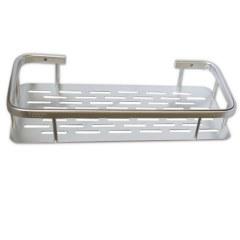 САНАКС – Полочка прямоугольная одинарная алюминиевая с литым дном 32 см 75066