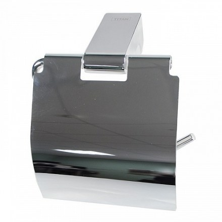 Держатель туалетной бумаги с экраном TITAN 77003