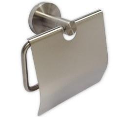 Держатель туалетной бумаги с экраном , из нержавеющей стали GFmark 80003
