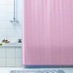 Штора для ванны 180Х200 RIGONE розовая BACCHETTA
