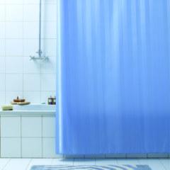 Штора для ванны 180Х200 RIGONE синяя BACCHETTA