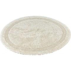 Коврик  хлопковый в ванну круглый  D100 кремовый ELIPS ПОЛЬША 850163