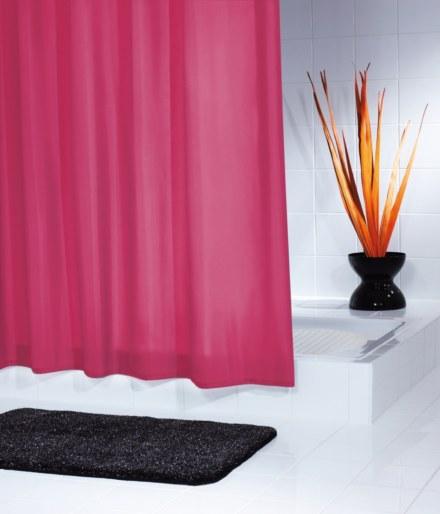 Штора для ванных комнат Madison красный