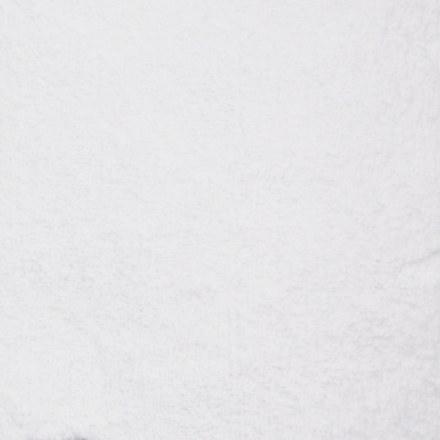 """Коврик в ванную БЕЛЫЙ """" СУПЕРЛЮКС"""" прямоугольный одинарный 500 х 800 мм"""
