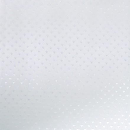 САНАКС – Штора однотонная – БЕЛАЯ, в ванную комнату – полиэстэр 180х180