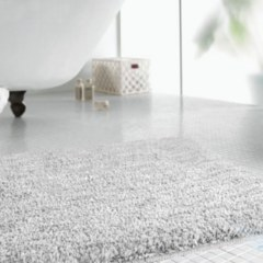 Набор ковриков в ванную Banyolin Moss СЕРЫЙ ТУРЦИЯ