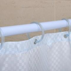 Карниз раздвижной для ванной 125-220 D20 белый  ПОЛЬША