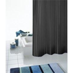 Штора для ванных комнат Satin черный