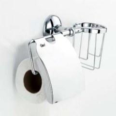 Держатель туалетной бумаги и освежителя настенный  LIDER 1073