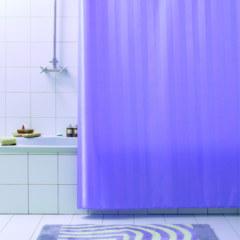 Штора для ванны 240Х200 RIGONE лиловая BACCHETTA