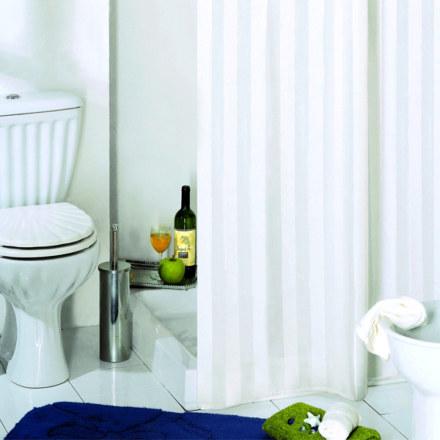 Штора для ванны RIGONE белая 180Х200 BACCHETTA