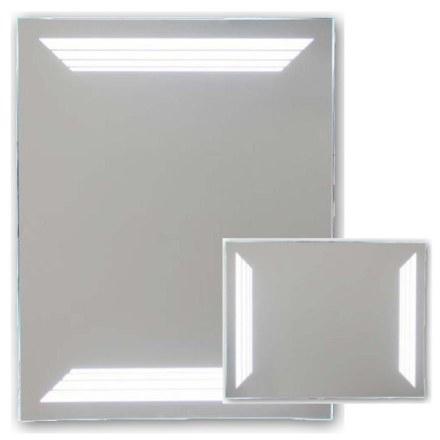 Зеркало с внутренней подсветкой горизонтальное + вертикальное