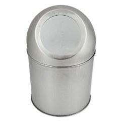 Ведёрко для мусора 1 л круглое , НАСТОЛЬНОЕ – PUSH из нержавеющей стали САНАКС