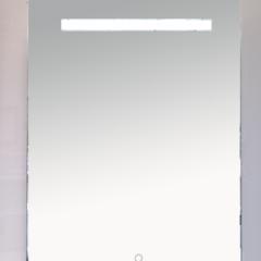 Зеркало  Misty 1 Неон LED 600х800 сенсор на зеркале (прямоугольное)