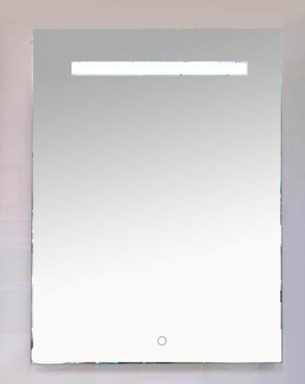 Зеркало MISTY LED 600х800 сенсор на зеркале (прямоугольное)1 Неон