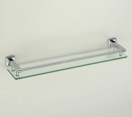 Полка стеклянная одинарная 40см Savol S-409591