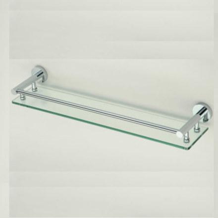 Полка стеклянная одинарная 50 см Savol S-508791