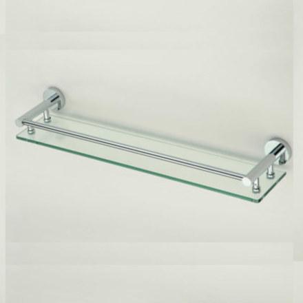 Полка стеклянная одинарная 40 см Savol S-408791