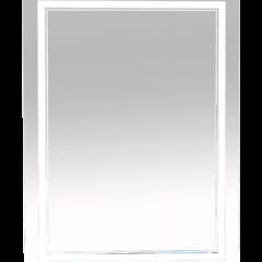 Зеркало Misty 2 Неон LED 600х800 сенсор на корпусе (двойная подсветка)