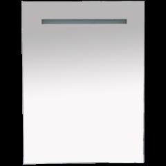 Зеркало Misty 1 Неон LED 600х800 сенсор на корпусе (прямоугольное)