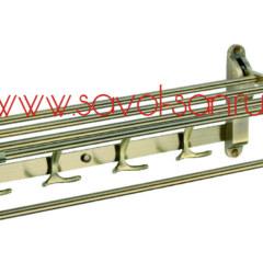 Полка для полотенец откидная бронзовая 60 см S-6099C Savol