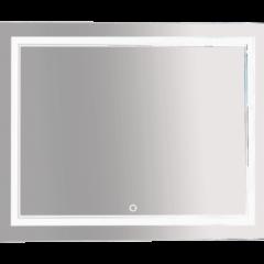 Зеркало Misty 2 Неон  LED 1000х800 сенсор на зеркале (двойная подсветка)