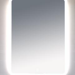 Зеркало Misty 3 Неон  LED 600х800 сенсор на корпусе (с круглыми углами)