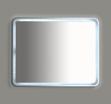 Зеркало Misty 3 Неон LED 1200х800 сенсор на корпусе (с круглыми углами)