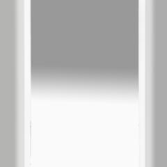 Зеркало Misty 3 Неон LED 600х800 клавишный выключатель (с круглыми углами)