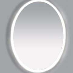 А Зеркало Misty 4 Неон  LED 600х800 сенсор на корпусе (овальное)