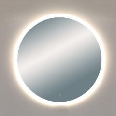 Зеркало Misty 5 Неон  LED 700х700 сенсор на зеркале (круглое)