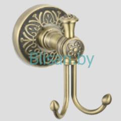 Крючок двойной SAVOL бронза S-005854C