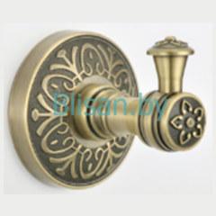 Крючок одинарный SAVOL бронза S-005853C