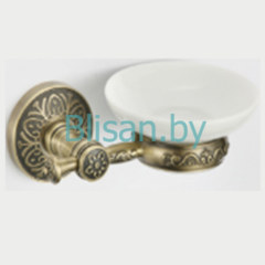 Мыльница керамическая SAVOL бронза  S-005859C