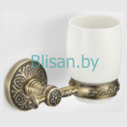 Стакан керамический  SAVOL бронза S-005858C