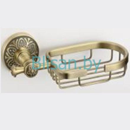 Мыльница решетка SAVOL бронза S-005832C