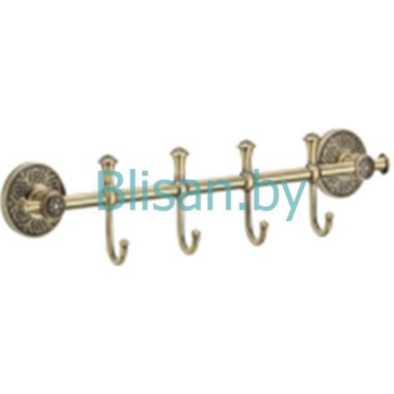 Планка с крючками (4 крючка) SAVOL S-005874C