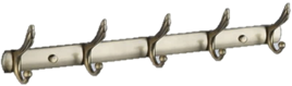 Планка с 5 крючками SAVOL S-C00115 бронза