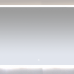 Зеркало Misty 3 Неон LED 1200х800 сенсор на зеркале (с круглыми углами)