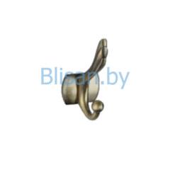 Крючок двойной  S-C00111 бронза