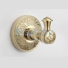 Крючок одинарный SAVOL золото S-005853В