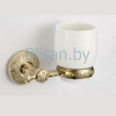 Стакан керамический SAVOL золото S-005858В