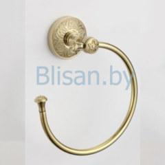 Держатель для полотенец кольцевой SAVOL золото S-005863В