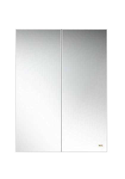 Шкаф с зеркалом для ванной Misty Балтика 60 / Э-Бал04060-011