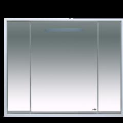 Шкаф с зеркалом для ванной Misty Барселона 105 / П-Брс02105 (с подсветкой)