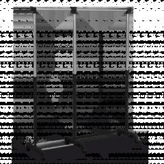 Вешалка Sheffilton SHT-WR2-1 хром/черный  868694