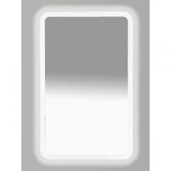 Зеркало  Misty Неон 3 LED 500х800 клавишный выключатель (с круглыми углами)
