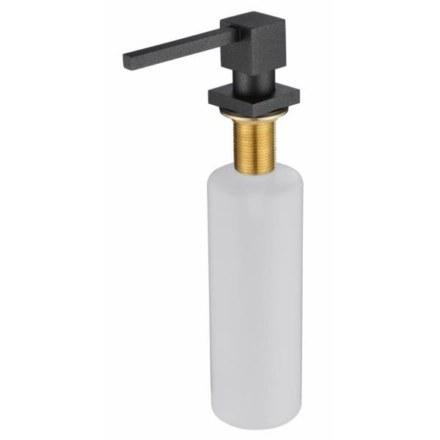 Дозатор для жидкого мыла черный мрамор Kaiser KH-3022