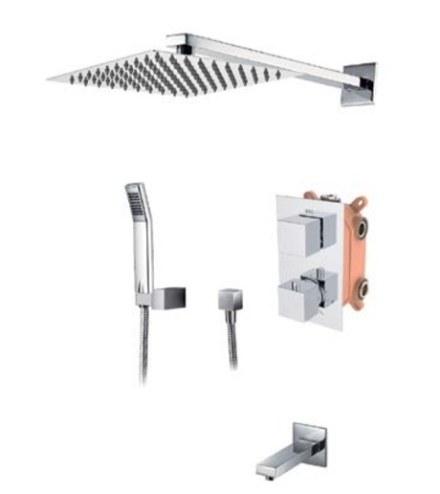 Смеситель KAISER Sonat 34577 скрытый монтаж с верхним душем и изливом (комплект 5 позиций)